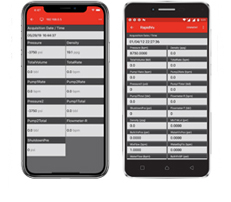 Oilfiled Monitoring Software for Android and Apple iPhone
