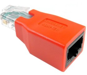 Figure 2: Ethernet Crossover Adapter