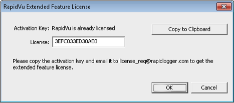 Figure 3: License Activation Screen - License Active